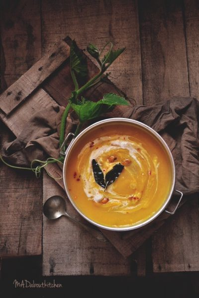 ROAsted Pumkin Soup