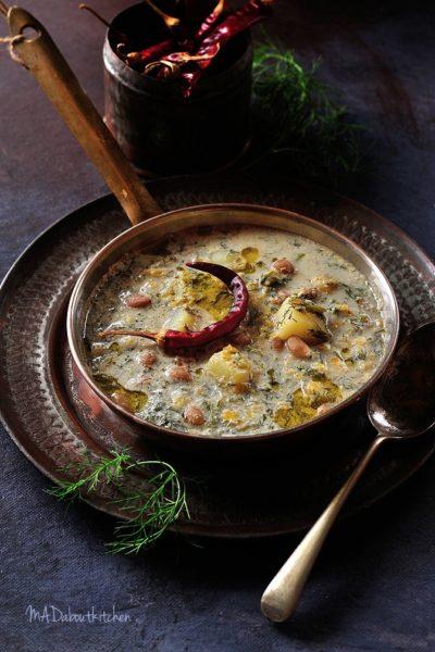 SABsige Soppu Kootu – Dill Leaf Curry