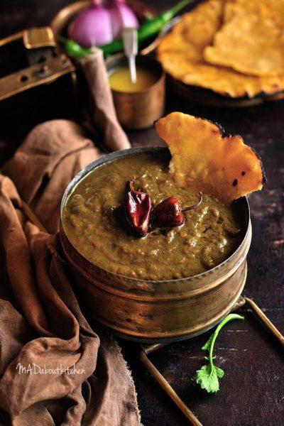SARson ka Saag – Mustard Leaf Curry