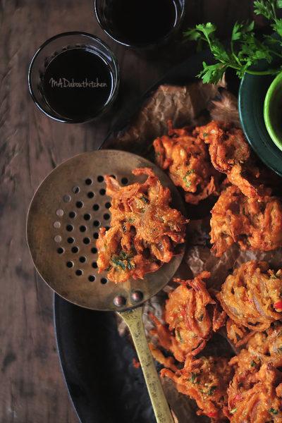 PAKoda – Onion Fritters , Pakode