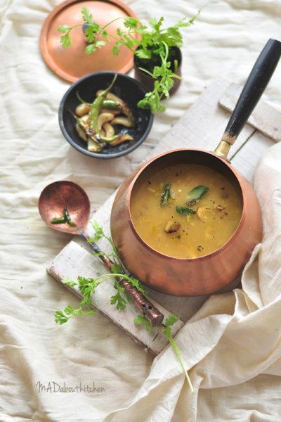 SAPpesaru – Garlic Dal