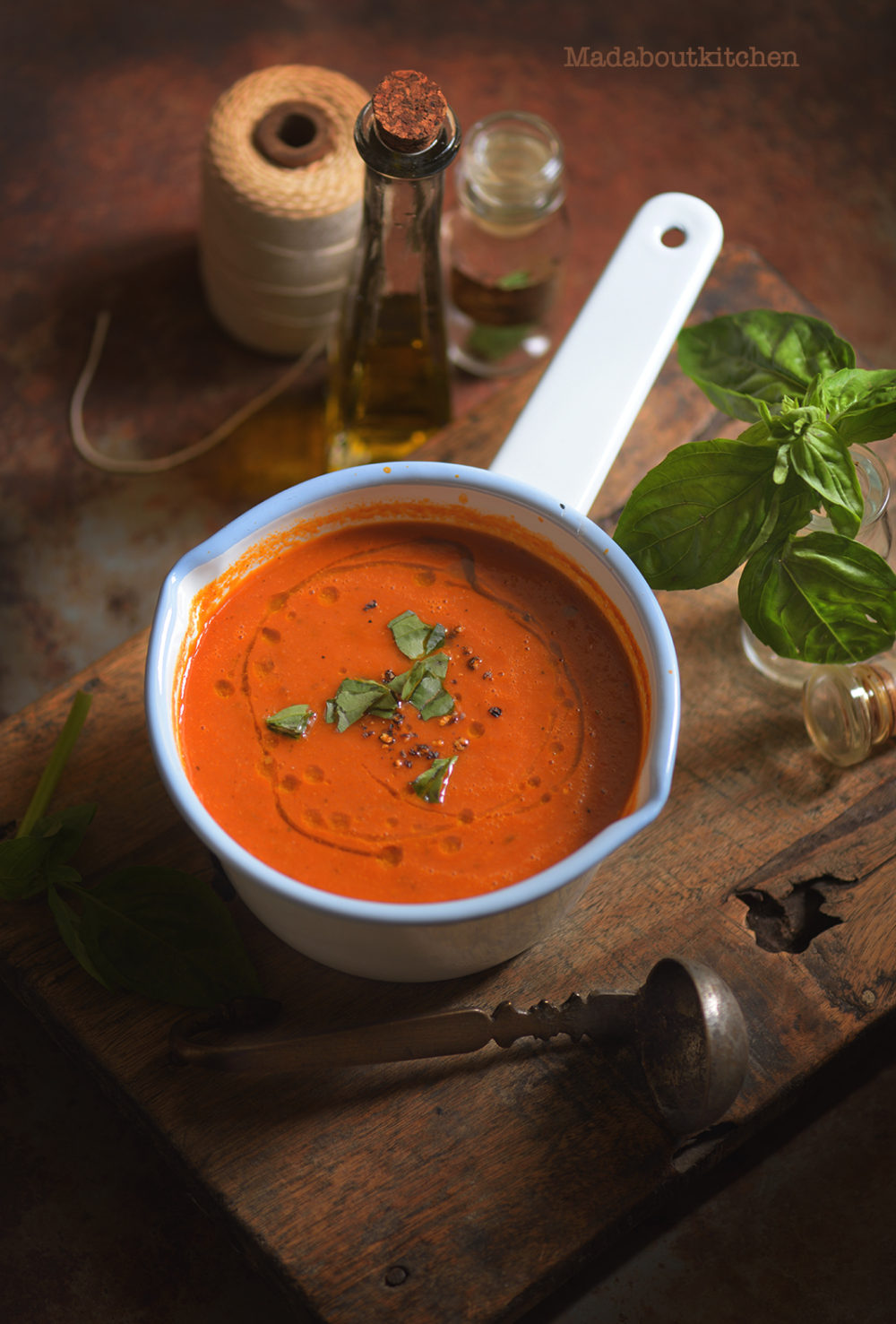 Tomato Soup is one of the basic, easiest soup to make yet with complex flavours