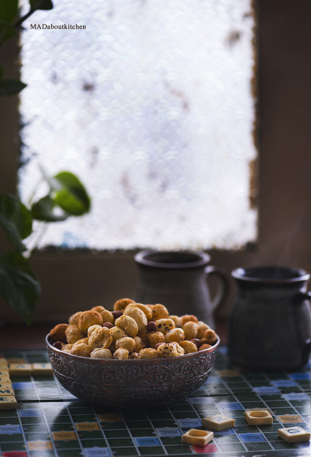 Makhana / Lotus Seeds snack is high in protein, carbohydrates, fibre, low in calories makes it a healthy and perfect teatime snack.