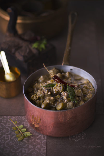 BENdekaayi Gojju / Ladies Finger Curry