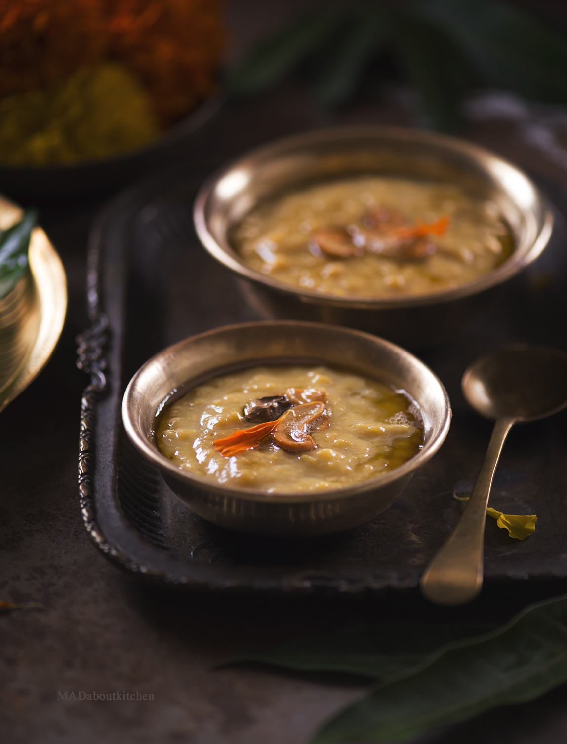 Hesaru Bele Paayasa made using Moong dal ( Green gram), is a quick, simple and yummy kheer that is very often made during festivals.