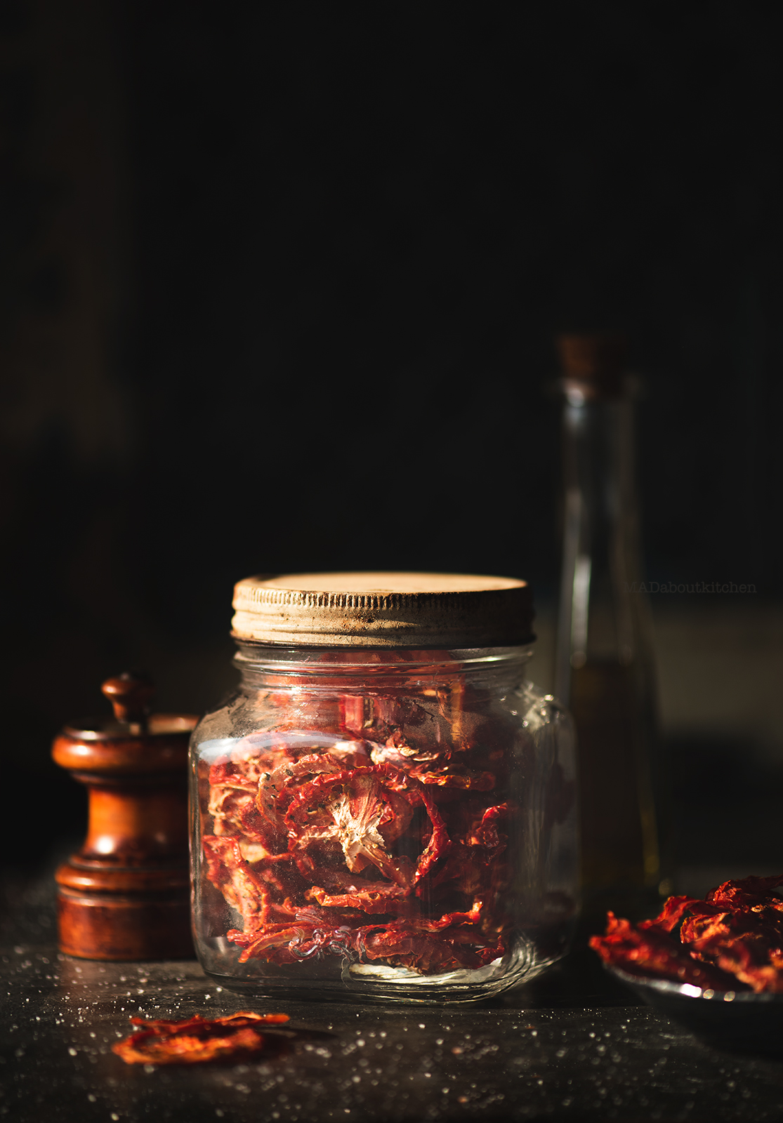 Homemade sun-dried tomatoes are so easy & convenient to make & tastes so much better than the store bought ones. Make it in summer and use it through the year.