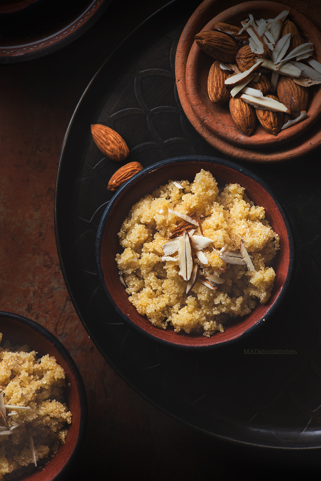 Sooji ka Halwa is the most common Indian desserts made using semolina that is quick to make & healthy too. This halwa is crunchy & crispy.