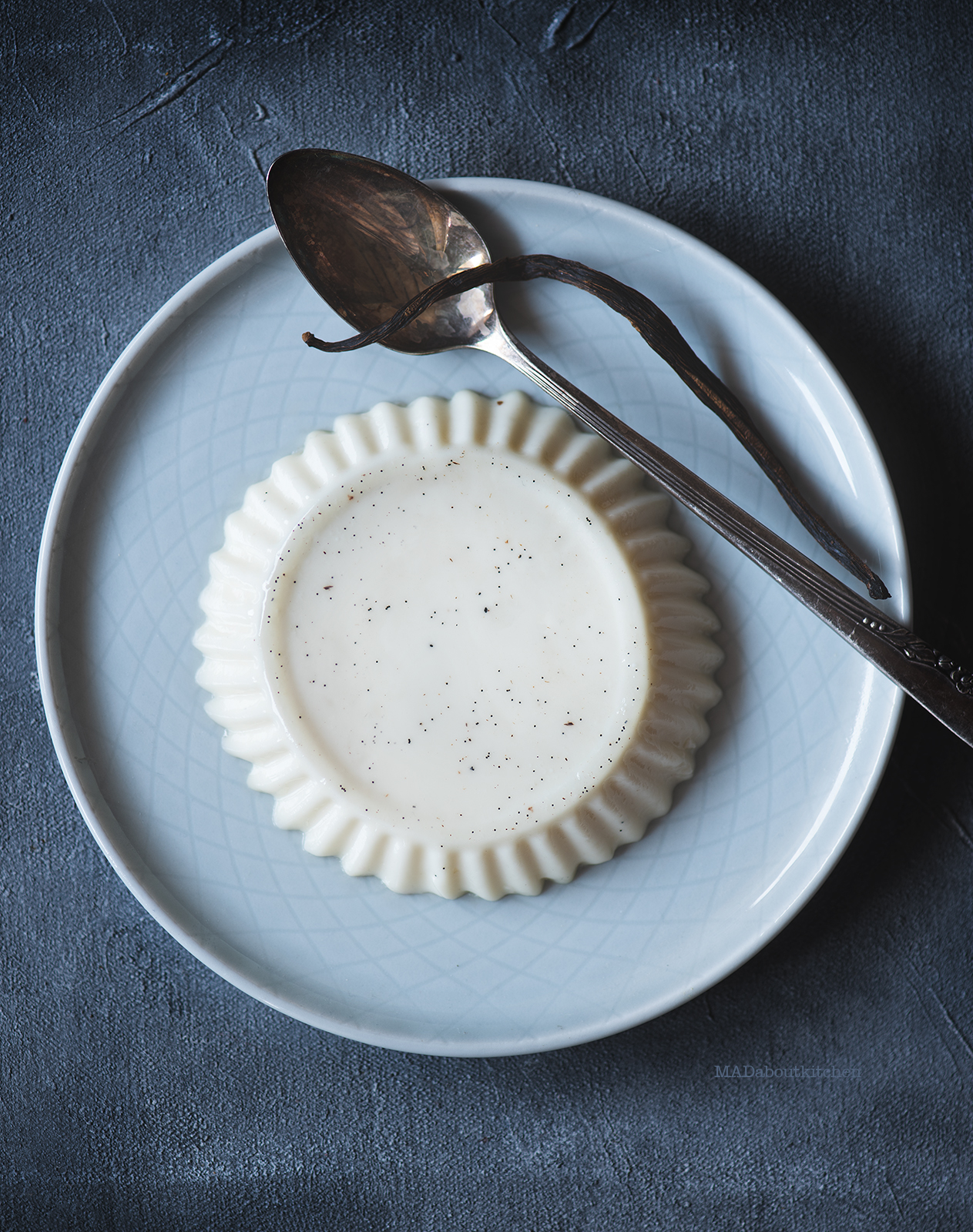 """Vanilla Panacotta is abasic Italian pudding that is made using cream and thickening agent.The name Panacotta iterally means """"cooked cream,"""""""