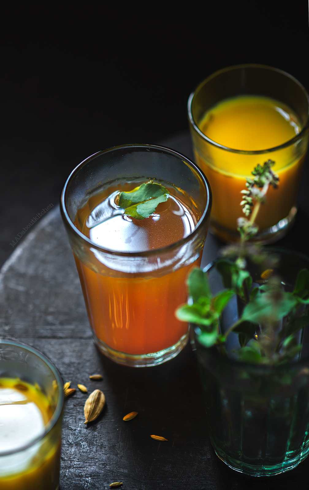 Kashāya or Kada , is a decoction of spices that helps build immunity and the drink that gives you relief from cold and cough when had regularly.