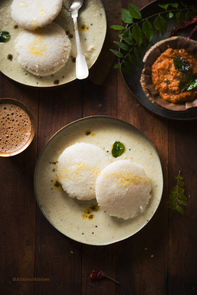 IDLi - Most famous Indian breakfast, Rice dumpling