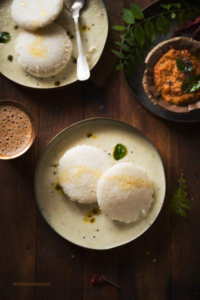 IDLi - Most famous Indian breakfast, Rice dumpling