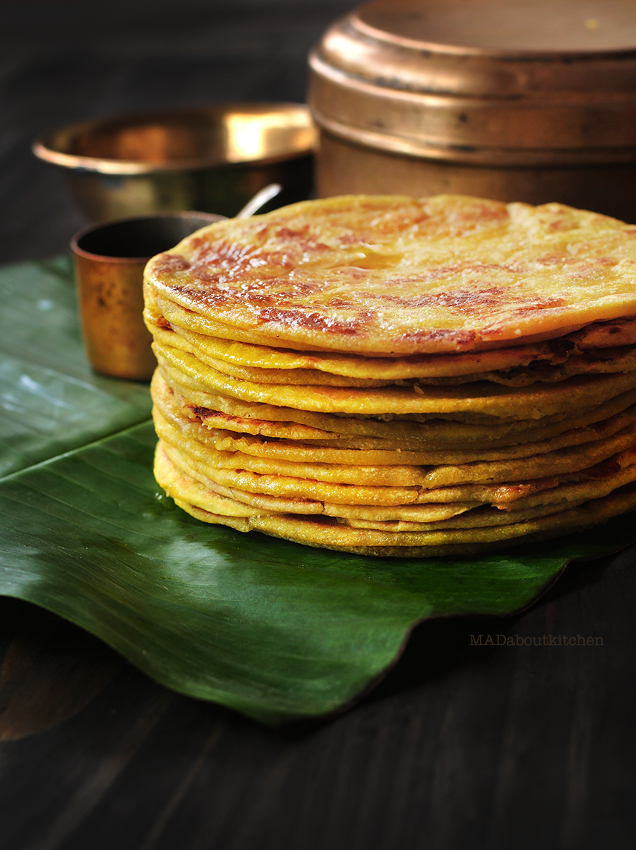 Obattu/Holige/Puran Poli is one of the traditional sweet dish of India. The process is very similar to making a stuffed paratha/ Stuffed Indian bread.