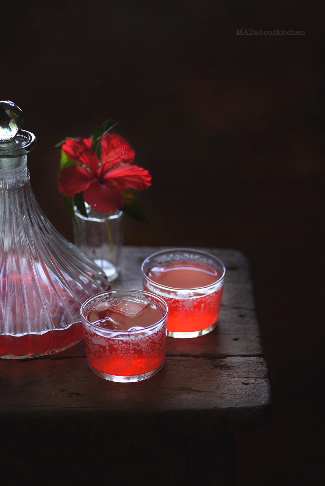 Hibiscus Tea is one of the prettiest and easiest to make at home. Here is a super easy recipe for you to follow and make this homemade, infused tea.