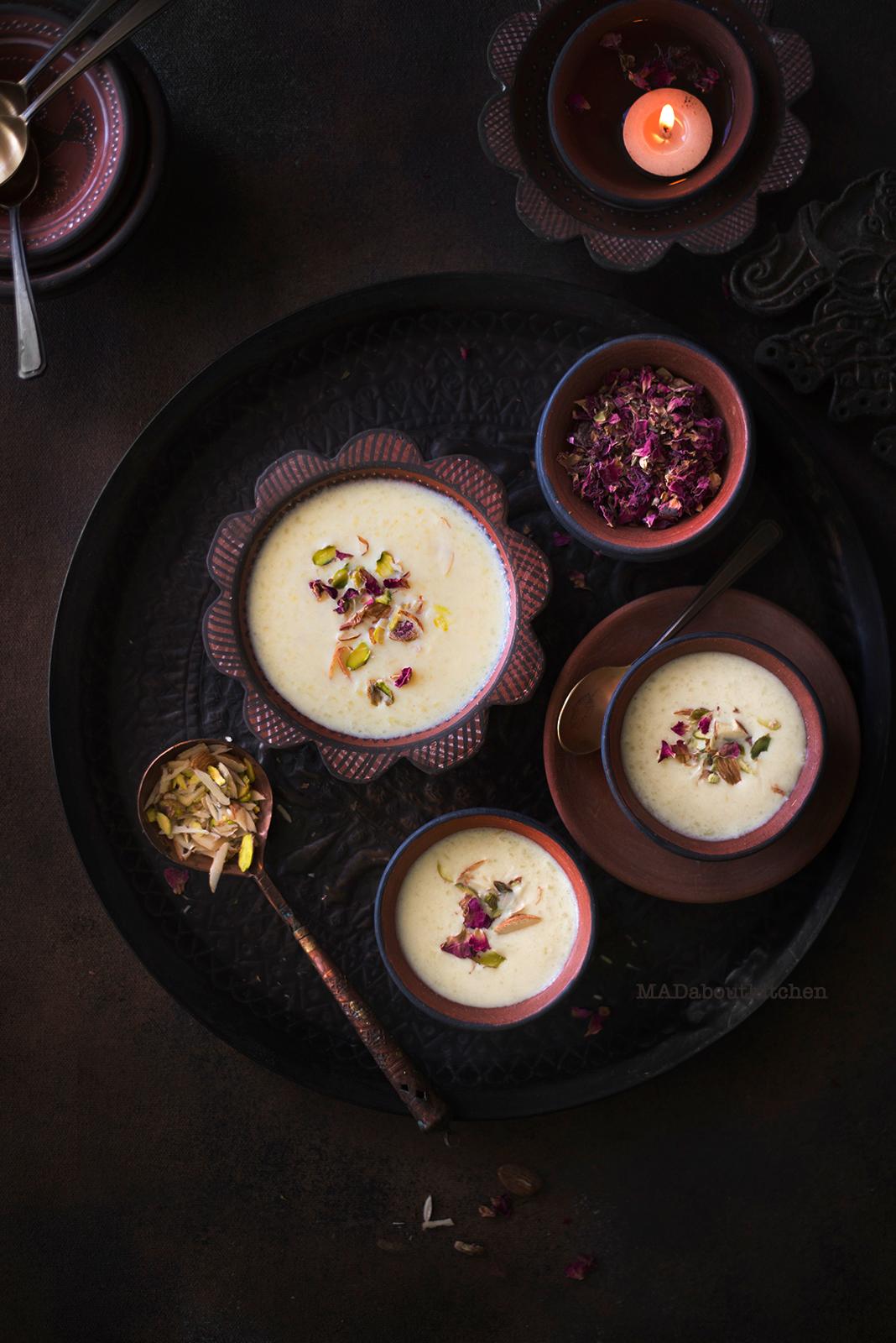 Haalu Paayasa or Akki Paayasa is the basic paayasa that we make at home. Haalu Paayasa is prepared with just few basic ingredients like milk, rice, sugar and cardamom.