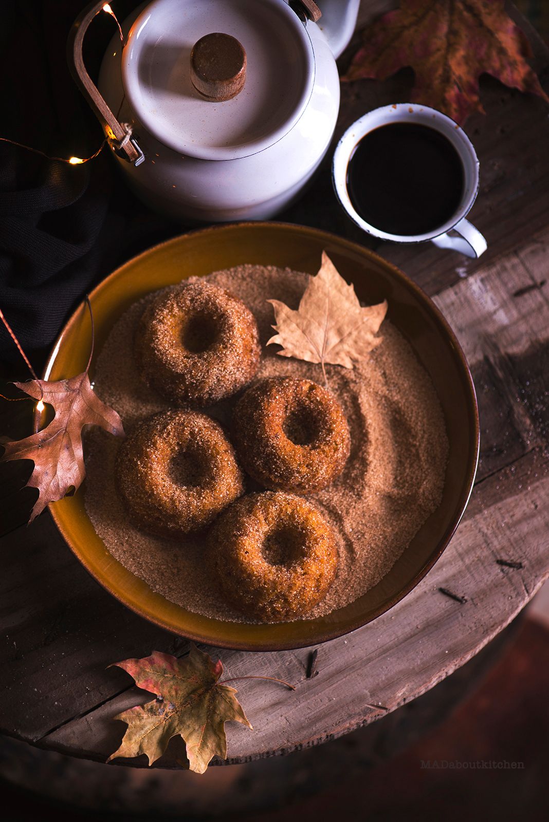 Pumpking Bundt Cakes are these moist, super yum cakes rolled in cinnamon sugar. These are perfect when they are warm and had with some coffee.