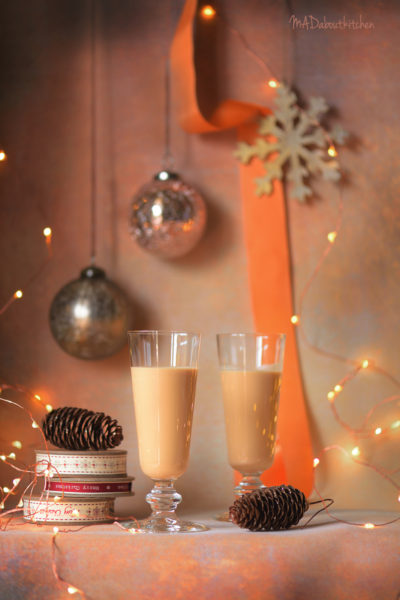 Caramel Marshmallow Creamer is a creamy boozy drink made using Caramel and Marshmallow and Brandy.
