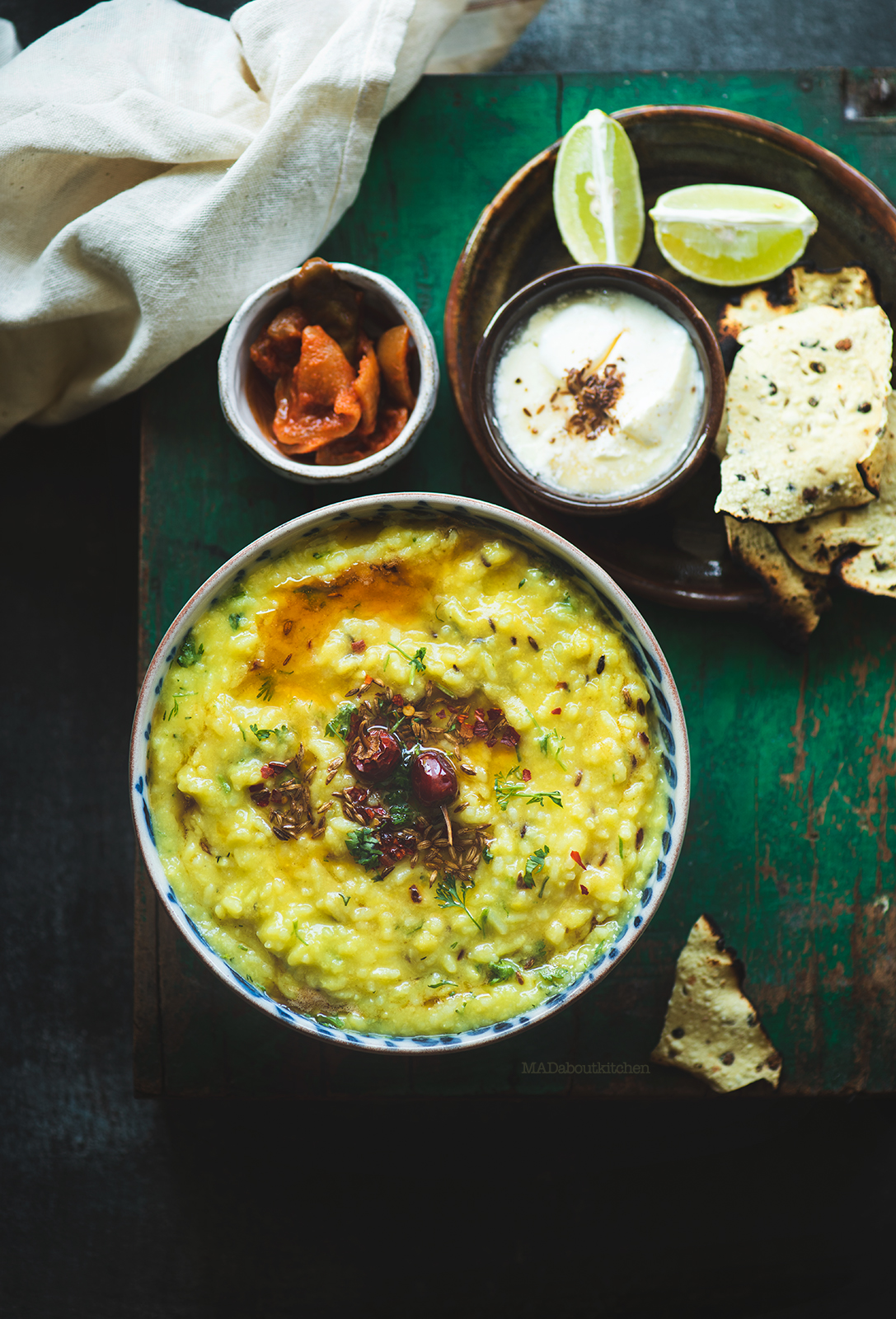 Khichdi, the most common one pot meal in India is a wholesome dish made using rice and lentils. Khichdi is the comfort food that is easy and healthy.