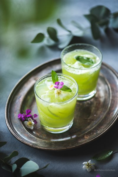 Cucumber Basil Lemonade is so cooling and is so refreshing. The taste of this simple drink is not only out of this world but this drink looks so beautiful.