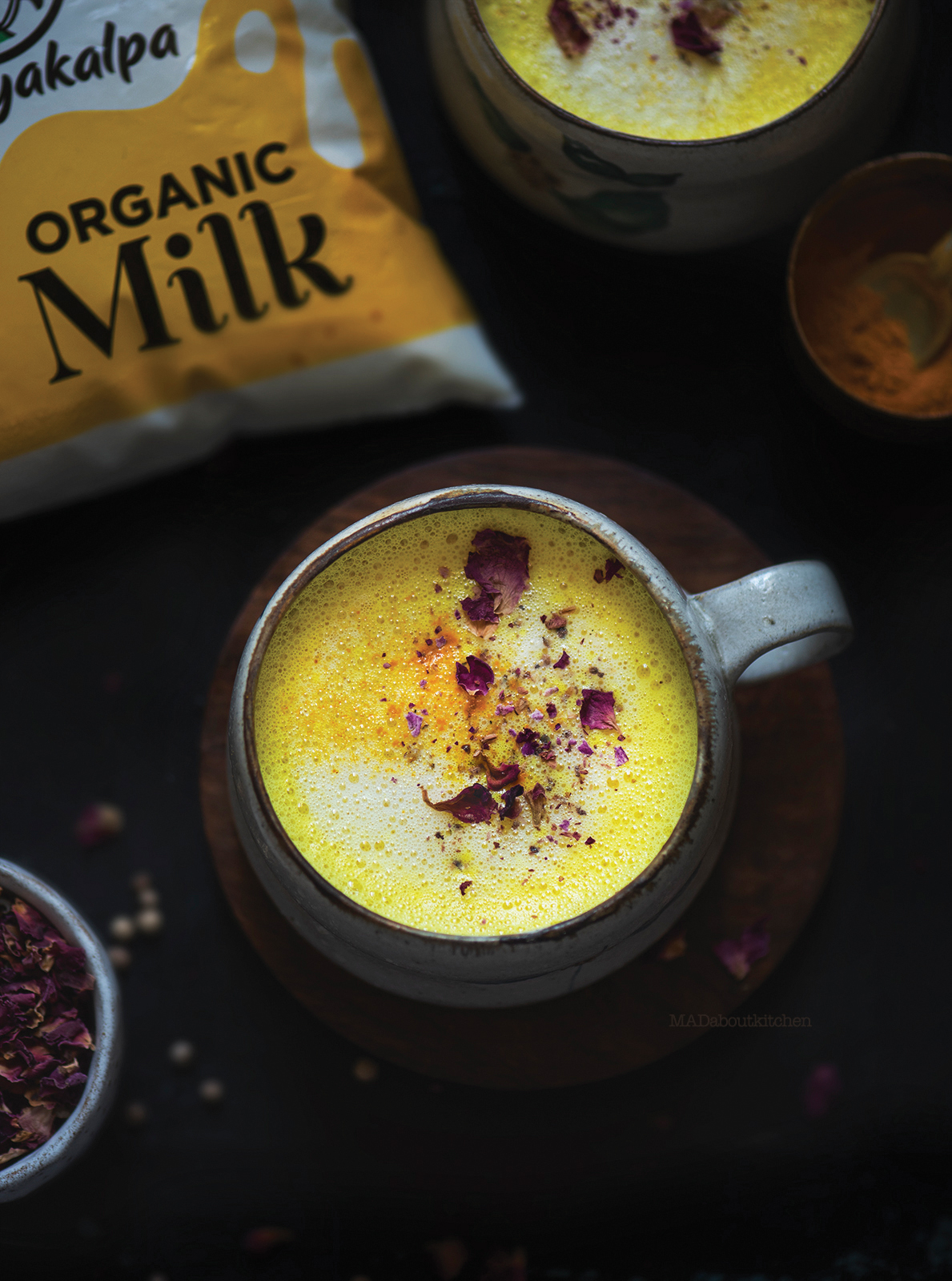Haldiwaala doodh, the immuintiy booster drink now globally famous as Golden milk, Turmeric latte is one of our go to drink of every household in India.