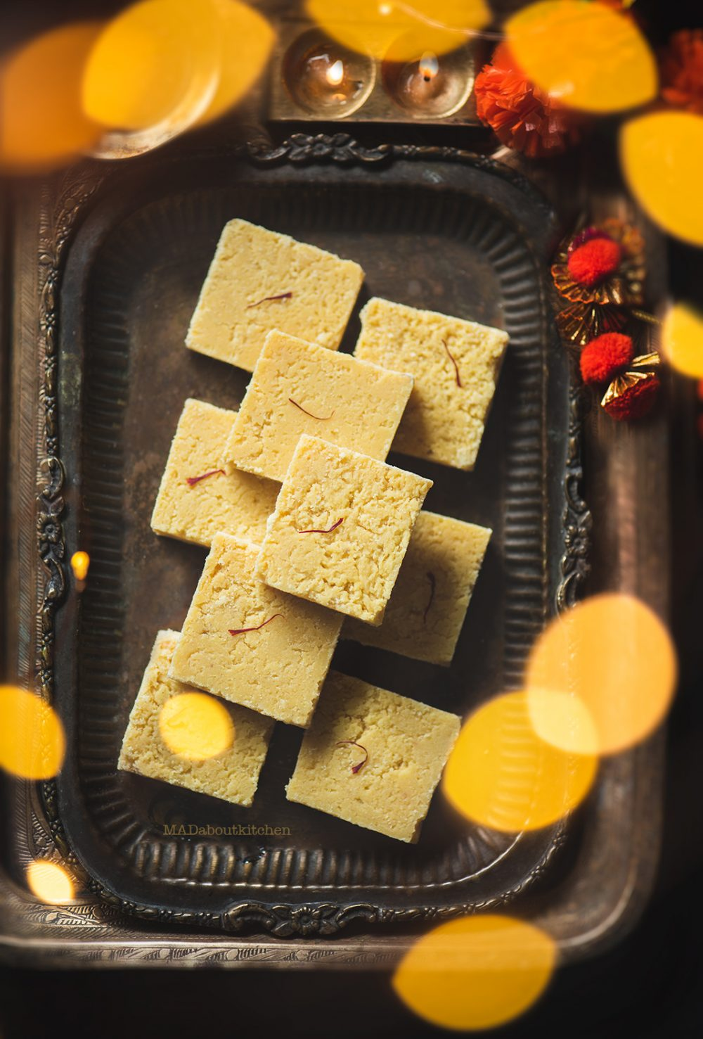 7 cups barfi is made using 7 cups of ingredients using Besan.Besan mithai is a simple, easy mithai to make for any festival.